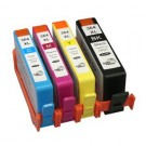 HP č.364XL SD534E Bk+C+M+Y multipack kompatibilní cartridge